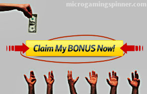 Claiming terms in Microgaming free spins