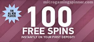 Free spins from Microgaming after a deposit