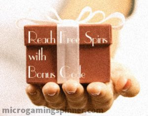 Microgaming free spins with bonus code