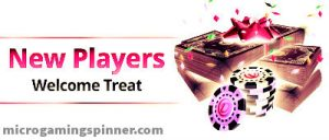 Free spins in the bonus package from Microgaming